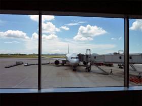 広島空港 ANA