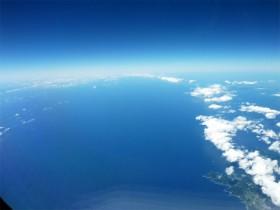 沖縄旅行 離陸