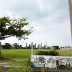 沖縄 与那国島 校庭