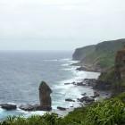 沖縄 与那国島 立神岩