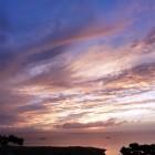 沖縄 石垣島 石垣天文台から見た夕焼け