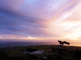 沖縄 石垣島 天文台からの夕景
