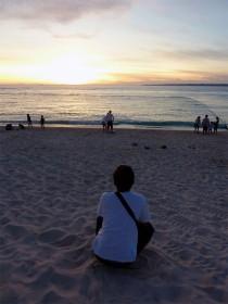 沖縄 本島 瀬底ビーチ たそがれティコさん
