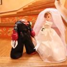 リカちゃん花嫁とズゴック花婿