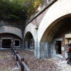 ガス貯蔵庫跡