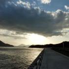 大久野島から見た瀬戸内海