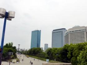 大阪城公園前